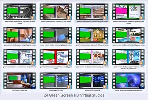 Green Screen HD Virtual Studios